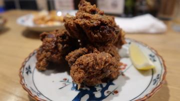 塩麹付けの鶏のから揚げ(1)