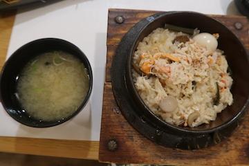 カニ釜めし(2)