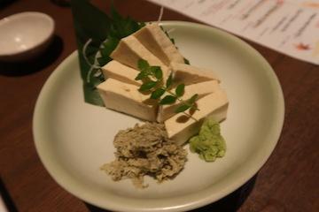 五箇山豆腐の昆布〆(1)