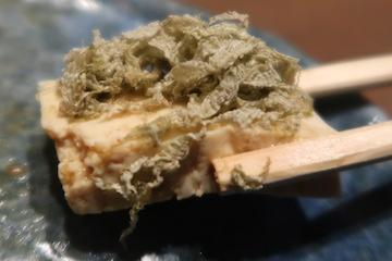 五箇山豆腐の昆布〆(2)