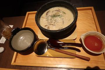 石焼きチーズリゾット(1)