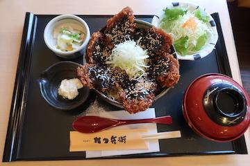 富山ブラックソースカツ丼(1)