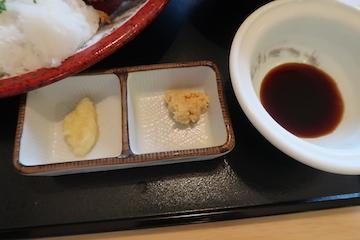 ねぎおろしヒレカツ定食(2)