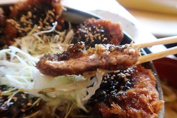 富山ブラックソースカツ丼(4)