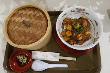 麻婆丼セット(1)
