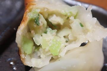 つくし特製餃子(2)