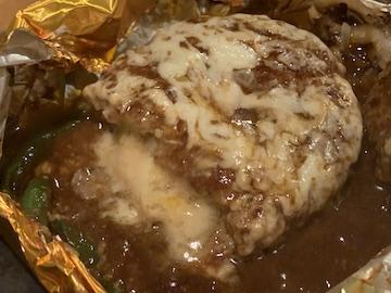 国産舞茸とチーズインハンバーグの包み焼きお得セット(4)