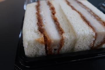 アンデス高原豚の豚カツサンド