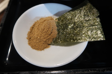 魚介つけ麺(3)