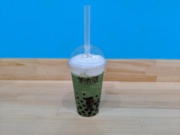 抹茶スムージー&自家製チーズクリーム(1)