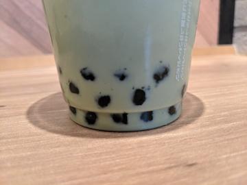タピオカ抹茶ミルク2
