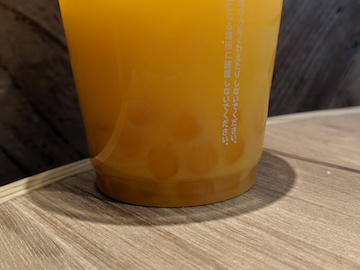 タピオカマンゴーオレンジ2