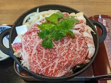 霜降り黒毛和牛(A3)すき焼き鍋(2)