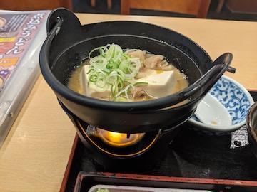 肉豆腐・和食膳(2)