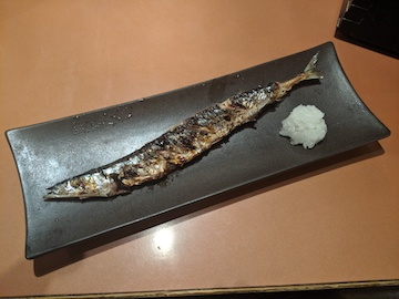 さんま塩焼き(1)