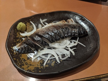 炙りしめ鯖(2)