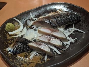炙りしめ鯖(3)