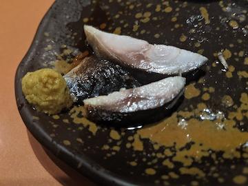 炙りしめ鯖(4)