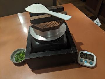 鶏釜飯(1)