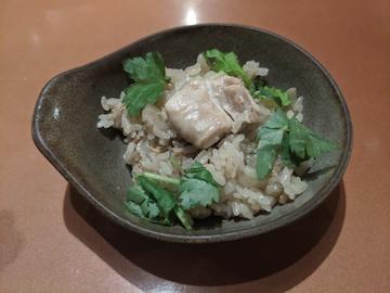 鶏釜飯(4)