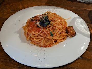 完熟トマトとナスのアラビアータ(1)