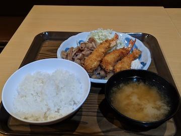 本日のおすすめ定食(1)