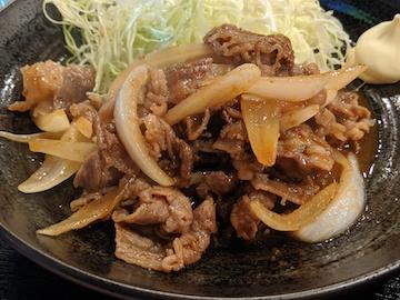 豚肉生姜焼き定食(2)