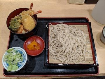 ミニ天丼セット1