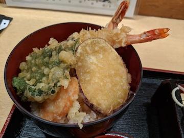 ミニ天丼セット3