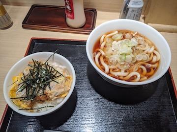 ミニカツ丼セット(1)