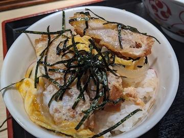 ミニカツ丼セット(2)