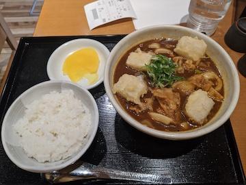 黒カレーうどん(1)