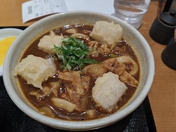 黒カレーうどん(2)