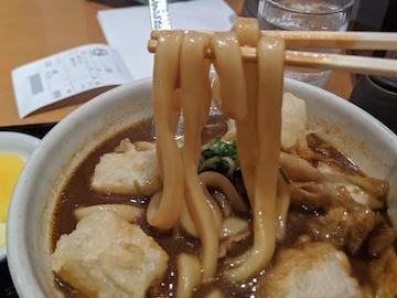 黒カレーうどん(4)