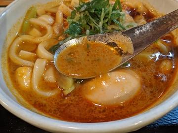 赤カレーうどん(5)