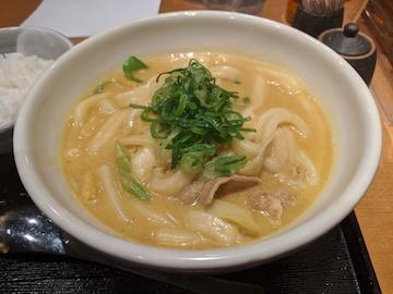 千吉カレーうどん(3)