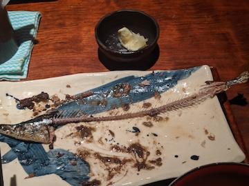 サンマ塩焼き定食(4)