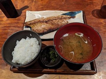 金華サバ定食(1)