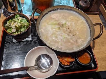 限定参鶏湯ランチ(1)