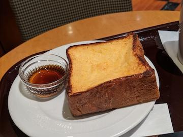 厚切りフレンチトースト(2)