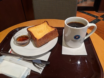 厚切りフレンチトースト(1)