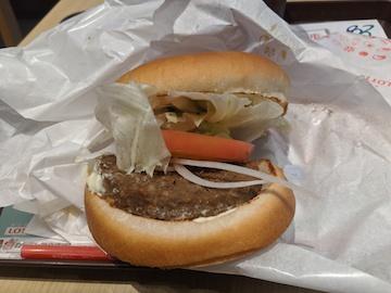 ソイ野菜ハンバーガー(2)