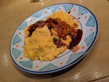 ふんわり卵のオムライス(1)