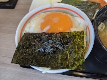 塩さば朝食(4)