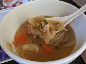 豚汁朝食(2)