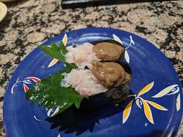 蟹身と蟹味みそ愛盛(2)