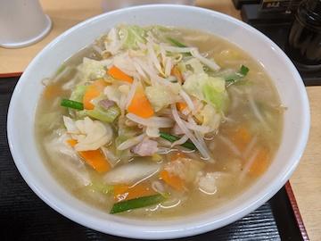 野菜たっぷりタンメン(1)