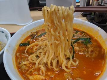 チゲ味噌ラーメン(3)