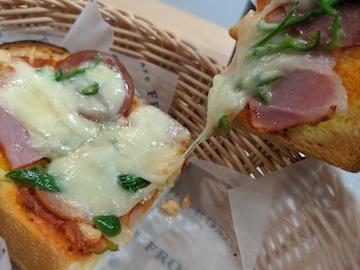 厚切りピザトースト(2)