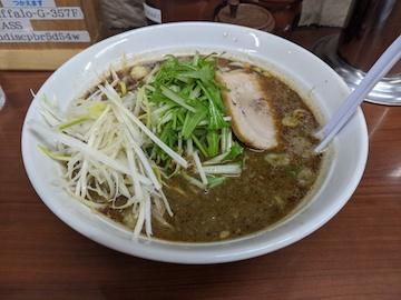 黒胡麻担々麺(4)